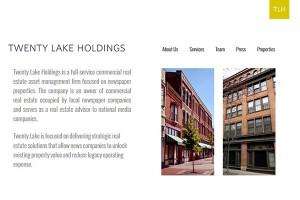 twenty lake holdings commercial real estate